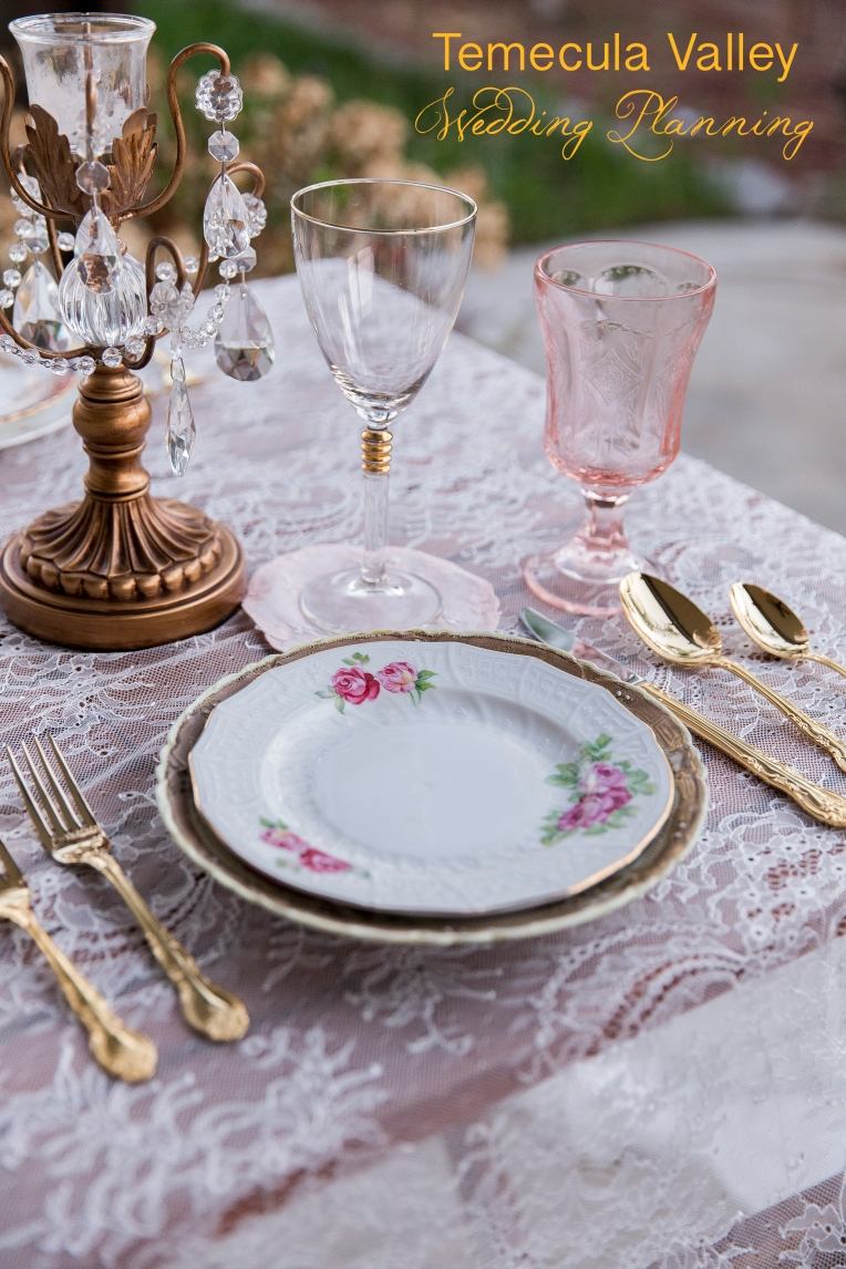 Temecula Wedding Rentable China